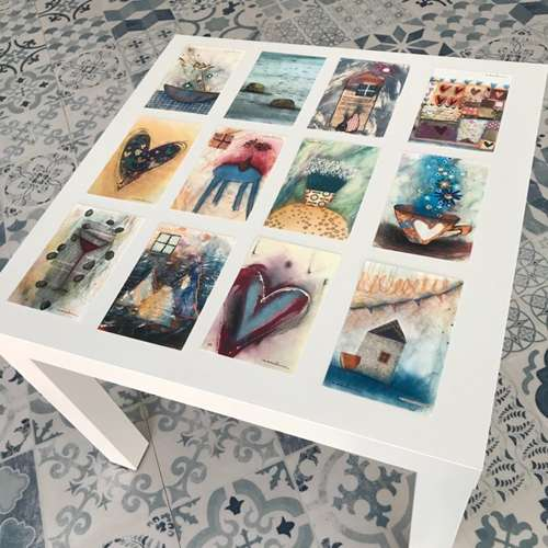 Les postals del Quadern de l'Emile, de Fina Veciana.