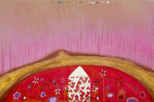 la caseta de les intencions Obra sobre fusta Fina Veciana
