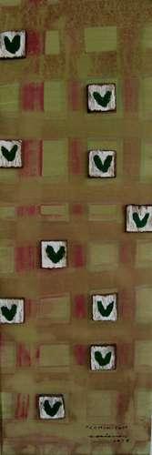 comunitat 2 obra sobre tela Fina Veciana