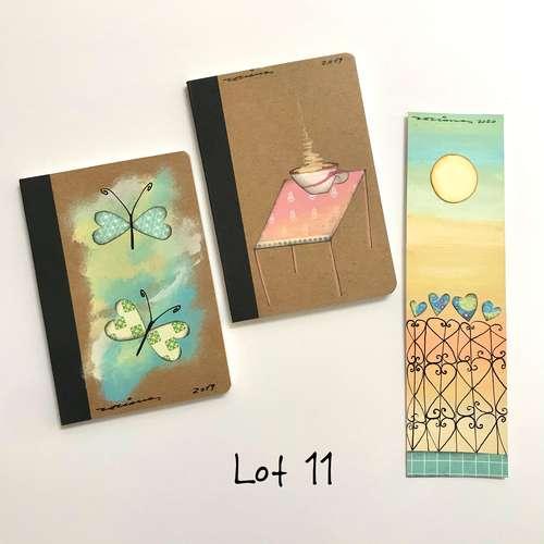 Lot 11 llibretes i punt de llibre Fina Veciana