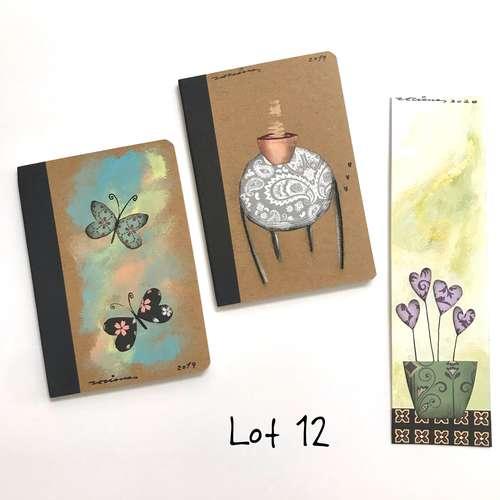lot 12 llibretes i punt de llibre Fina Veciana