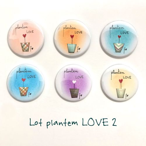 Lot xapes plantem LOVE 2 Fina Veciana
