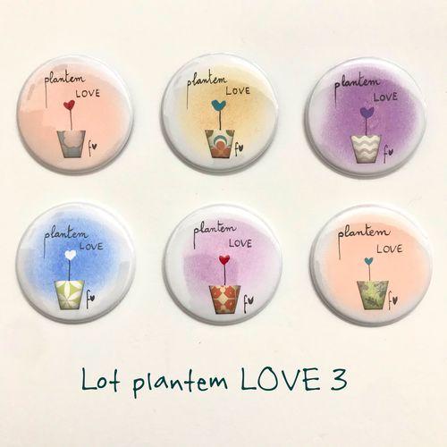 lot xapes plantem LOVE 3 Fina Veciana
