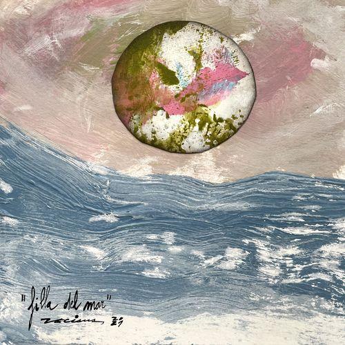filla del mar obra sobre paper Fina Veciana